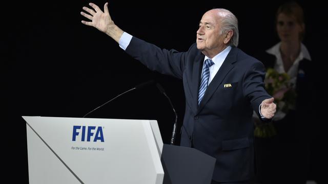'Toplanden uit verdeeld Europa kozen Blatter bij verkiezing'