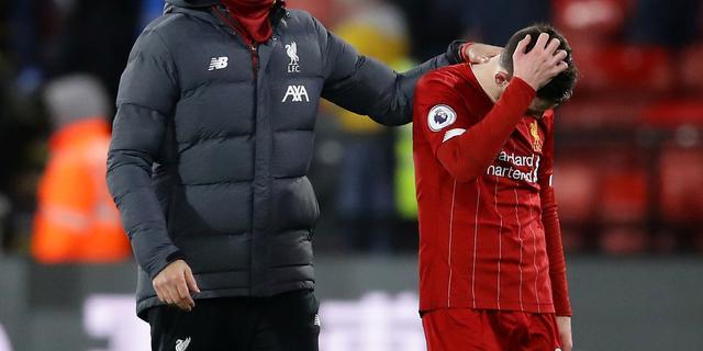 Klopp en Van Dijk prijzen sterk Watford na zeldzame nederlaag Liverpool