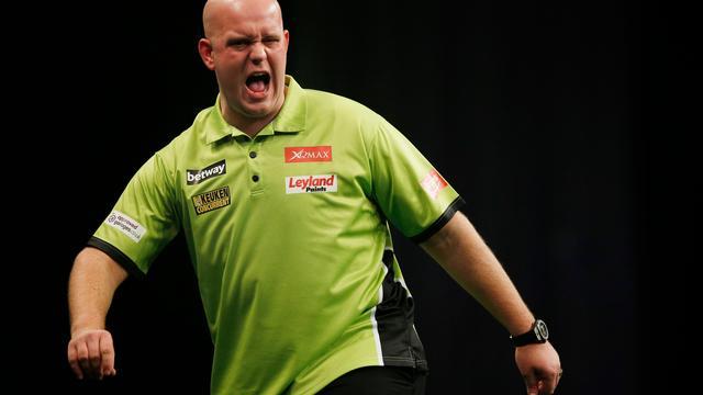 Van Gerwen gooit negendarter op UK Open