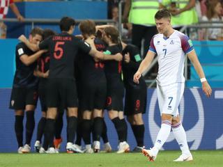 Kroaten winnen met 2-1 in Rostov