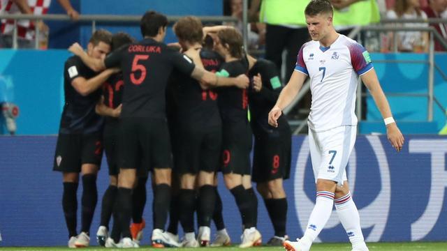 Kroatië schakelt IJsland uit en gaat als groepswinnaar verder op WK