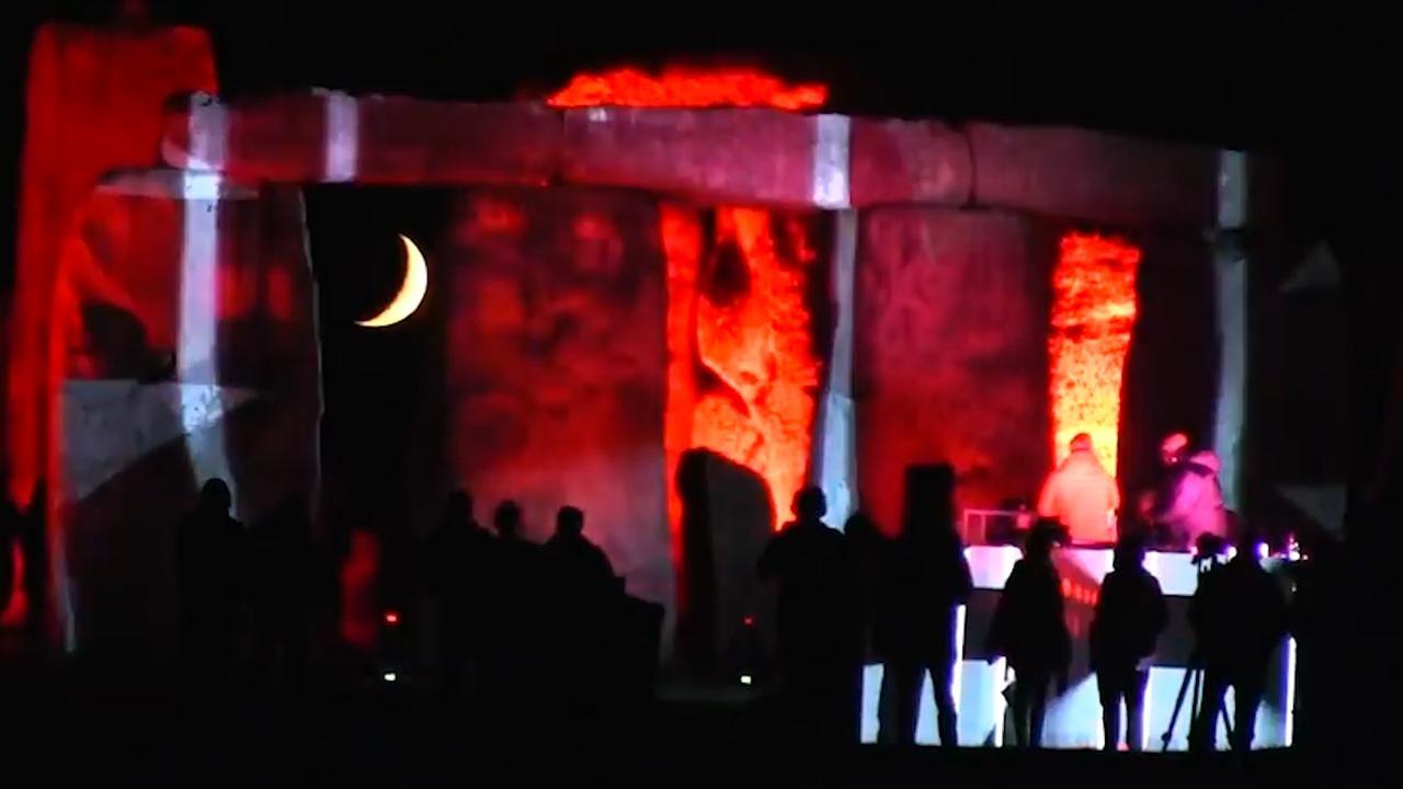 Stonehenge licht op voor uniek concert DJ Paul Oakenfold