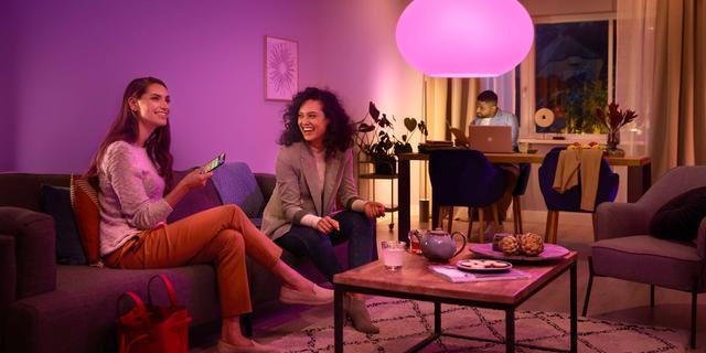 'Slimme lampen hangen in 1,4 miljoen Nederlandse huishoudens'