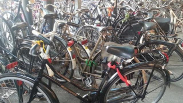 Bergse Fietsersbond tegen betaald fietsparkeren