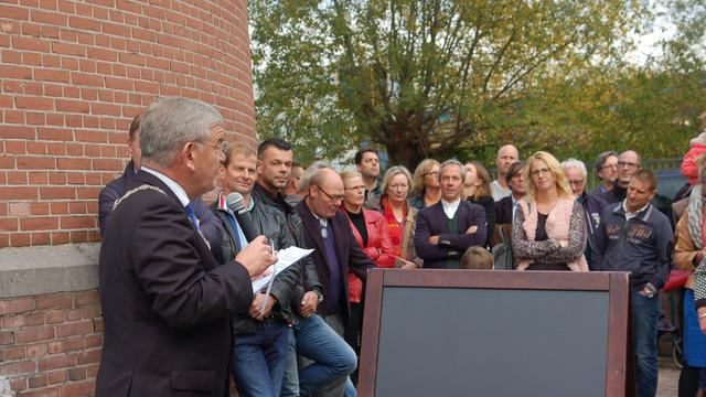 Watertoren Rotsoord officieel geopend door burgemeester