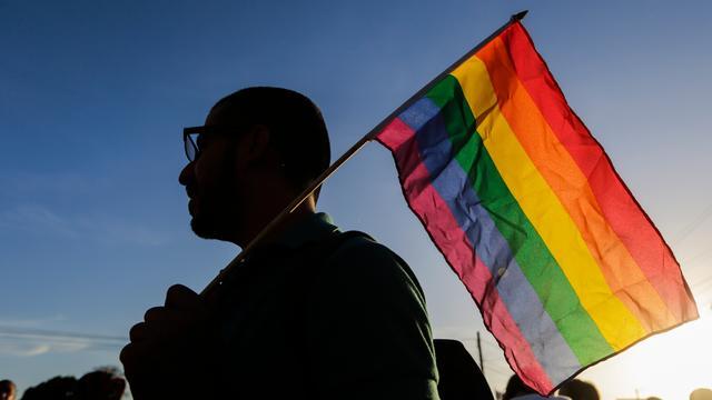 Honderdvijftig mensen bij mars tegen homohaat en discriminatie