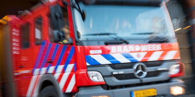 Persoon gered bij woningbrand W.A. Scholtenstraat