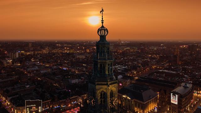 Meer dan een half miljoen overnachtingen in stad Groningen