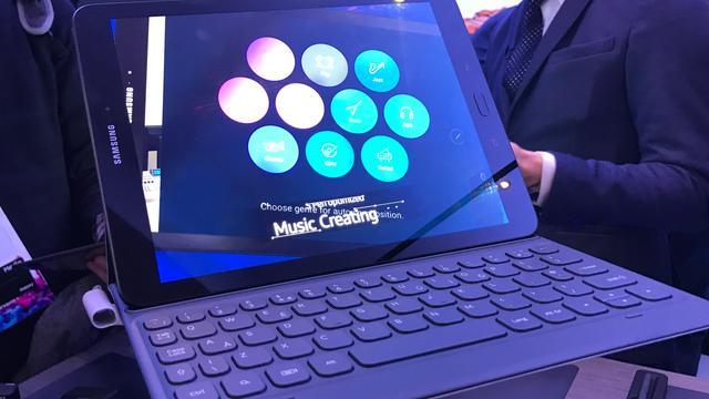 Eerste indruk: Glazen Galaxy Tab S3 en hybride Galaxy Book