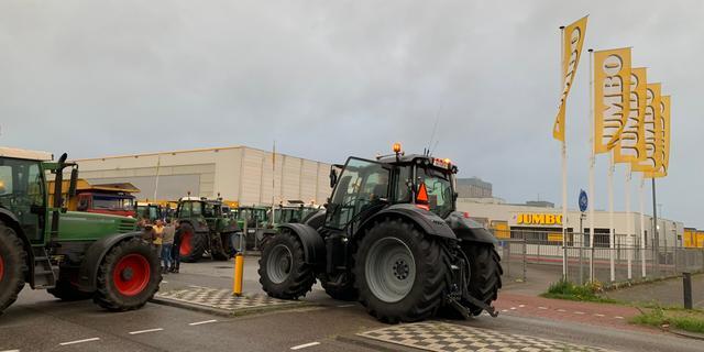 Boeren voerden onverwachts actie op meerdere plekken in Nederland