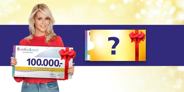 Ontvang gegarandeerd 20 euro in de BankGiro Loterij