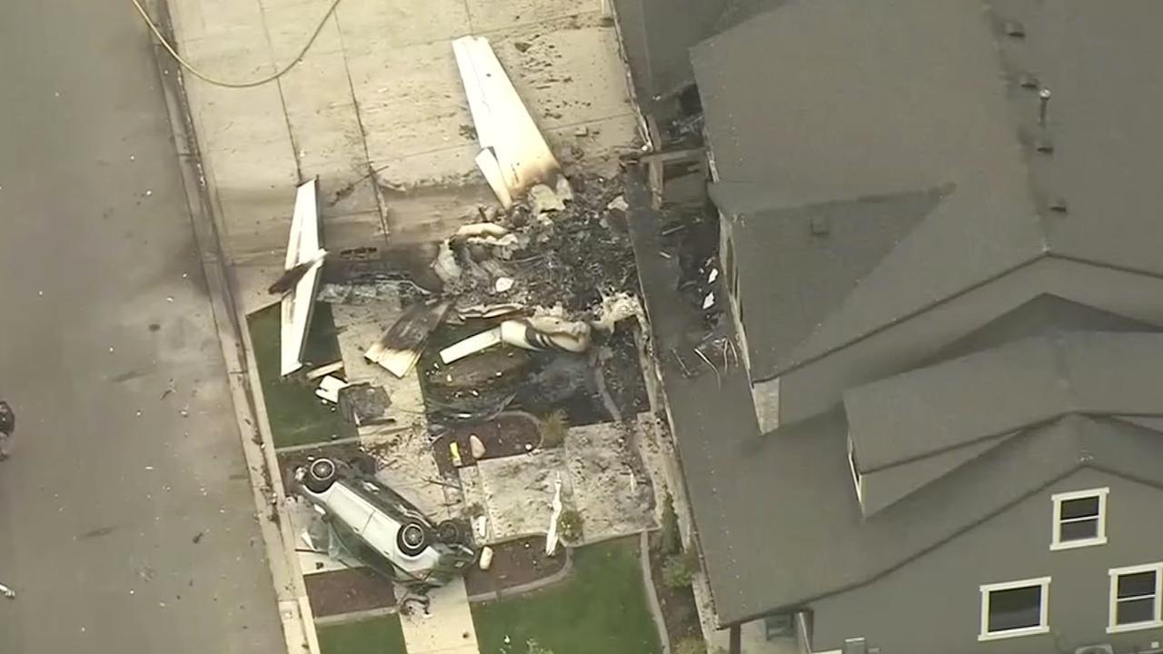 Man crasht vliegtuig op eigen huis na ruzie met vrouw