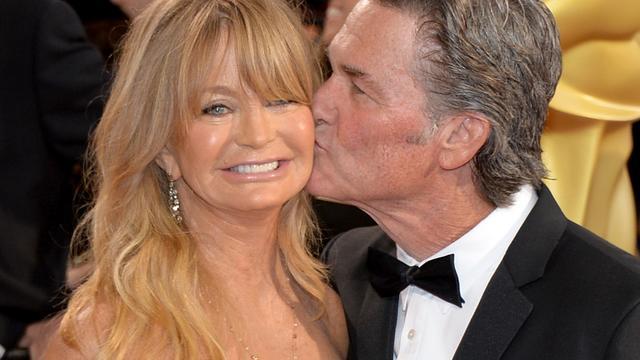 Walk of Fame-ster voor Goldie Hawn en Kurt Russell