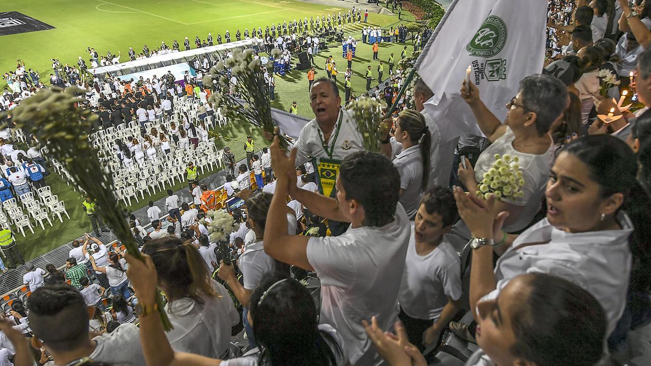 Atletico Nacional houdt herdenking voor Chapecoense