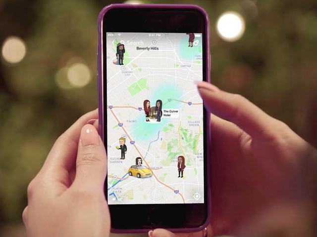 Snapchat gaat gebruikers mededelen wat er op de Snap Kaart gebeurt