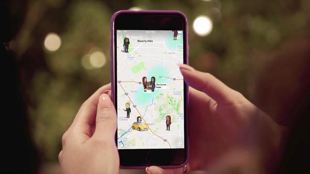 Snapchat komt met kaartweergave voor vrienden en verhalen
