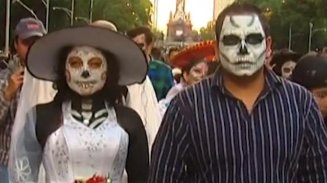 Mexico neemt voorproefje op nationaal feest 'Día de los Muertos'