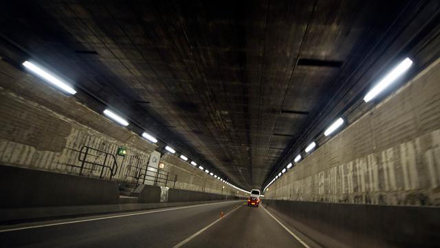 IJtunnel komende zondag overdag gesloten vanwege onderhoudsbeurt