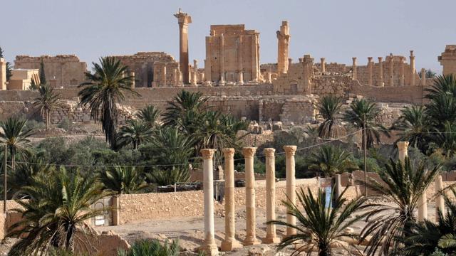 Syrisch regeringsleger bombardeert doelen IS in Palmyra en Raqqa