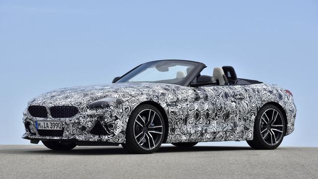 Eerste details en beelden nieuwe BMW Z4 vrijgegeven
