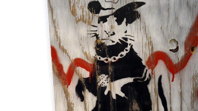 Grote Banksy tentoonstelling in Amsterdam