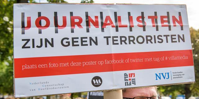 'Aantal journalisten dat vanwege werk vastzit wereldwijd hoger dan ooit'