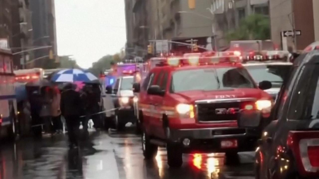 Hulpdiensten op de been na dodelijke helikoptercrash in New York