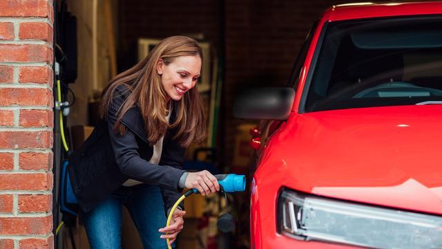 Netbeheerders denken ook dat de accu van elektrische auto's kan dienen als 'powerbank' voor het huis.