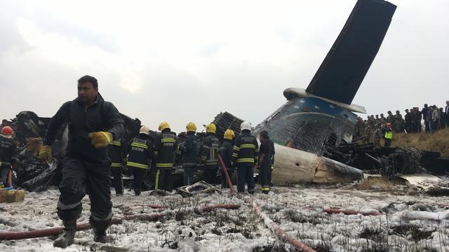 Tientallen doden bij crash vliegtuig tijdens landing in Kathmandu