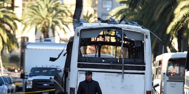 IS eist aanslag op bus Tunesië op