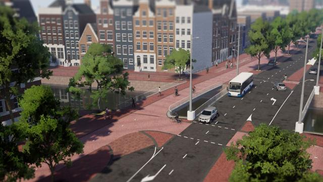 Haarlemmer Houttuinen wordt fietsverbinding Westerpark