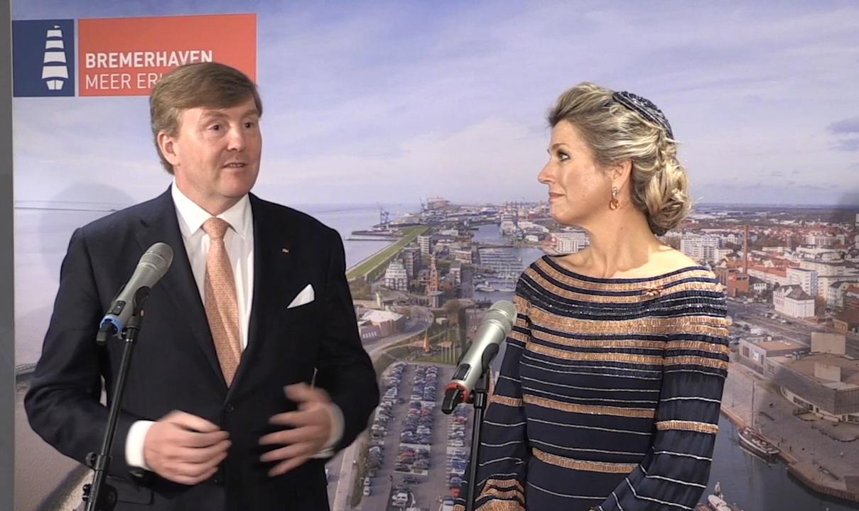 Bezoek koningspaar: 'Duitsland grootste buur en beste vriend'