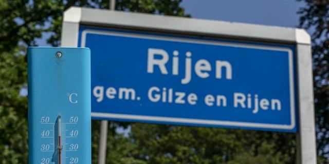 Warmterecord na een dag verpulverd: 40,7 graden in Gilze en Rijen