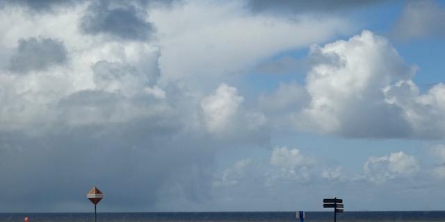 Weerbericht: Overwegend bewolkt met overal kans op een bui