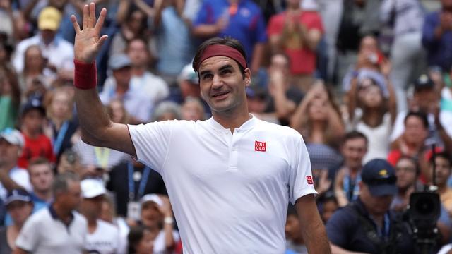 Federer plaatst zich ten koste van Kyrgios voor vierde ronde US Open