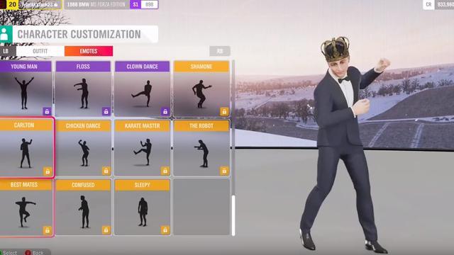 Forza Horizon 4 haalt dansjes uit game na rechtszaken tegen Fortnite