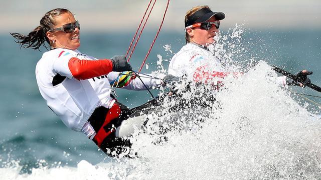 Zeilster Berkhout eindigt bij rentree als zevende bij wereldbeker in Miami