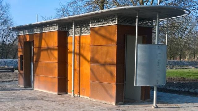 Toiletgebouwtjes in Park Zegersloot zijn vernieuwd