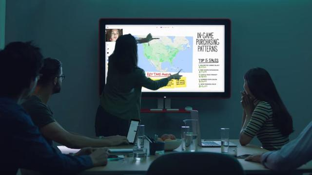 Digitaal whiteboard van Google gaat 5.000 dollar kosten