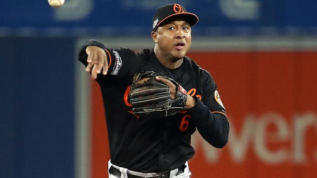 Honkballer Schoop met Baltimore Orioles uitgeschakeld voor play-offs MLB