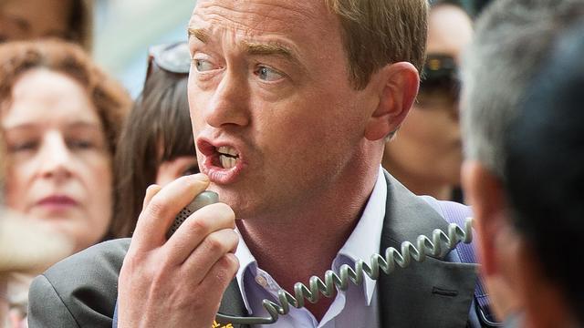 Tim Farron wordt nieuwe leider Britse Liberaal Democraten