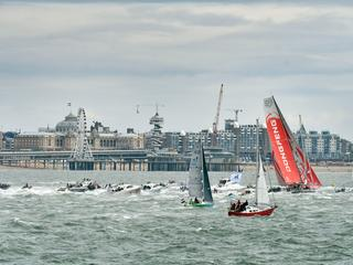 Chinese boot Dongfeng wint zeilrace om wereld na spannende strijd