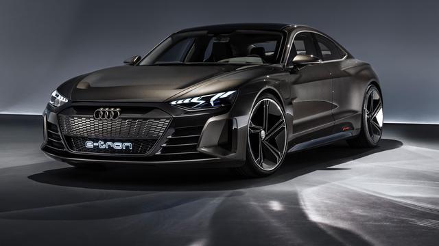 Audi toont voorbode van derde elektrische model