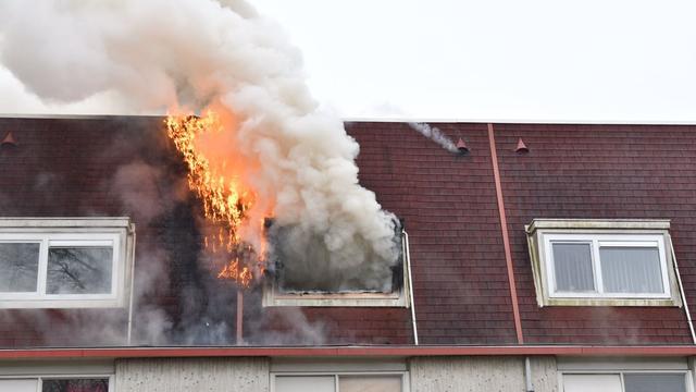 Twee keer brand in dezelfde woning aan Akkerwinde