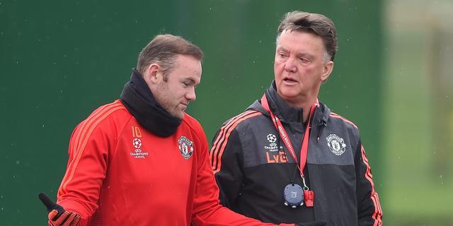 Van Gaal twijfelt niet over basisplaats bekritiseerde aanvoerder Rooney