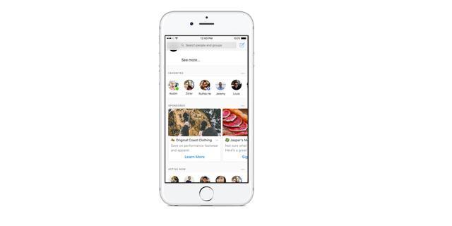 Facebook test advertenties in chatdienst Messenger