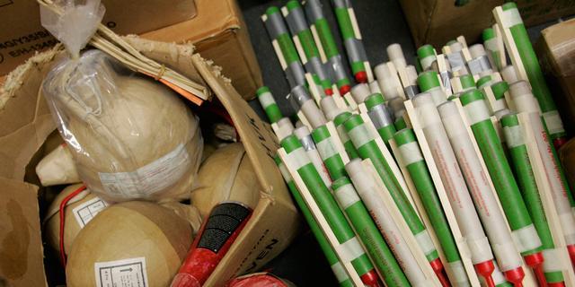 Honderden kilo's illegaal vuurwerk in beslag genomen in De Meern