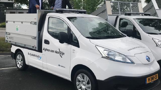 Gemeente vervangt bestel- en inzamelwagens door elektrische modellen