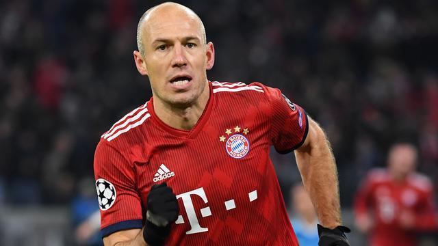 Robben kijkt na CL-loting uit naar 'fenomenale sfeer' op Anfield