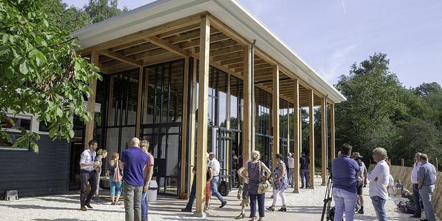 Educatief natuurpaviljoen in Stadspark officieel geopend